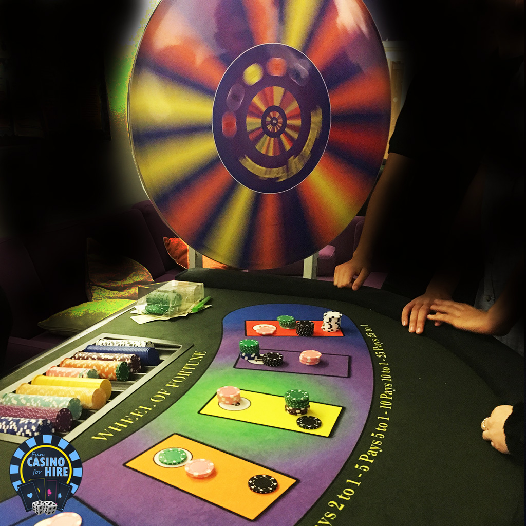 Wheel of fortune game spinland
