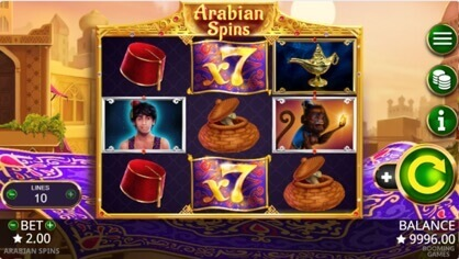Arabian nights slot Bonus 15577