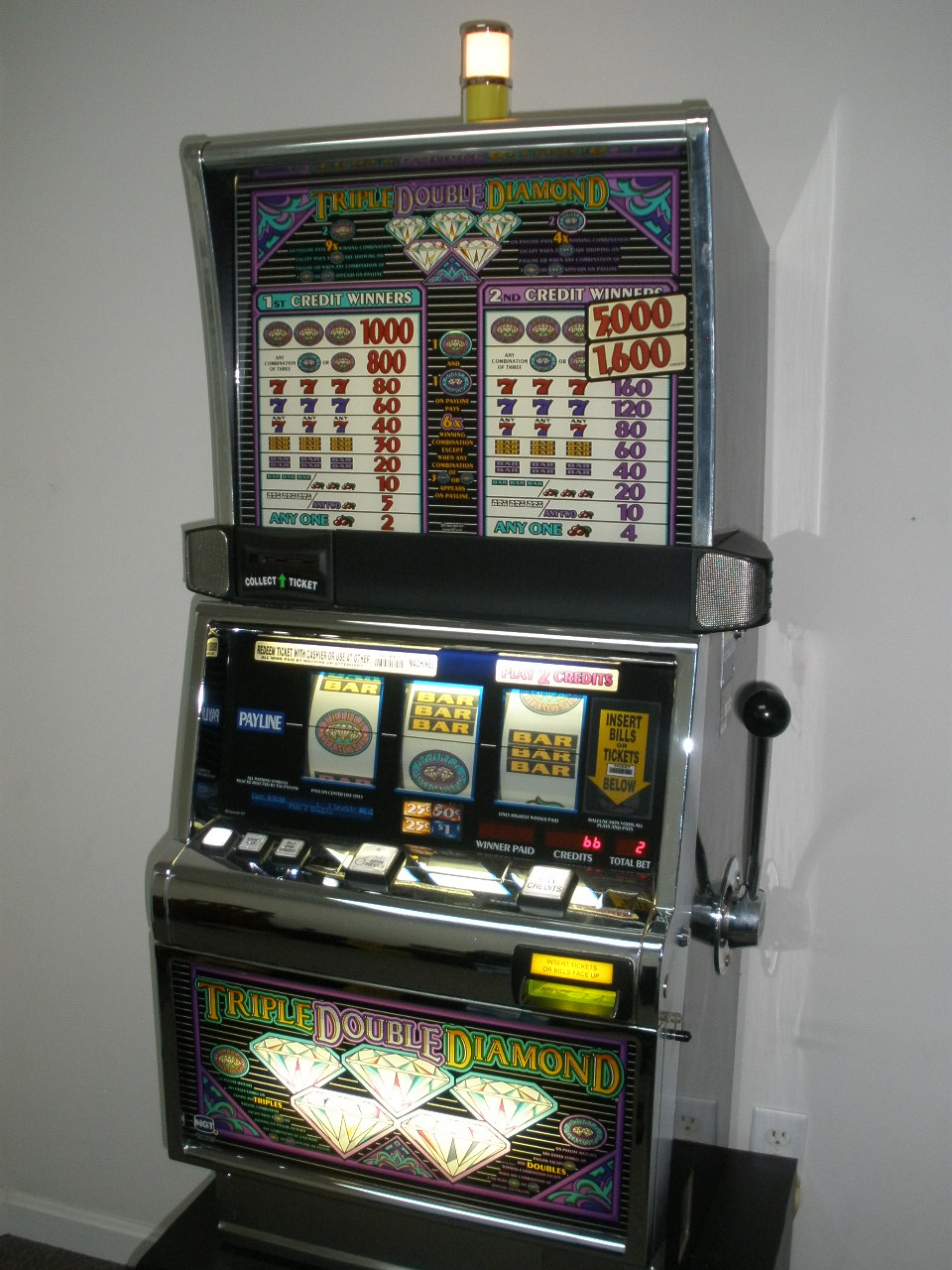 Virtual slot machine iron