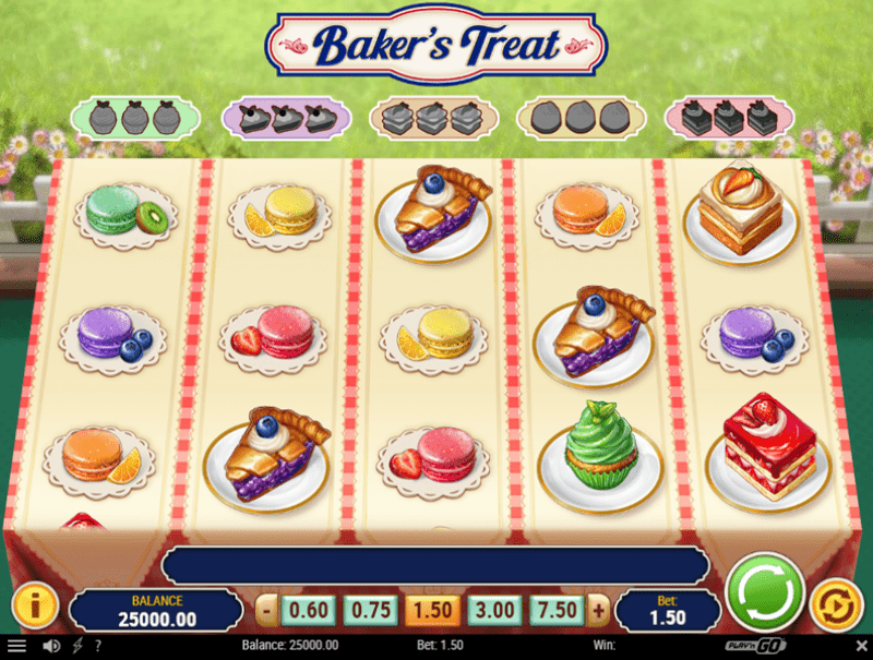 Video Baker Treat slot 87925